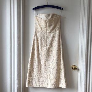 Ted Baker London Dresses - Ted Baker Avi lace strapless midi cocktail dress